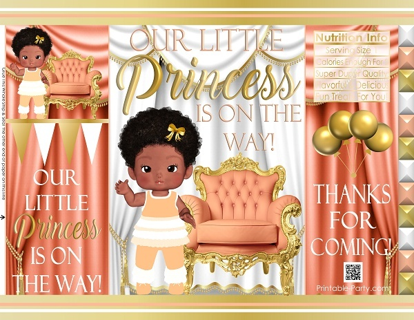 printable-chip-bags-royal-princess-peachgold-african-baby-shower