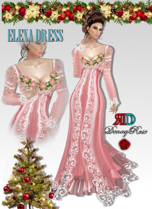 ELENA DRESS TEXTURA