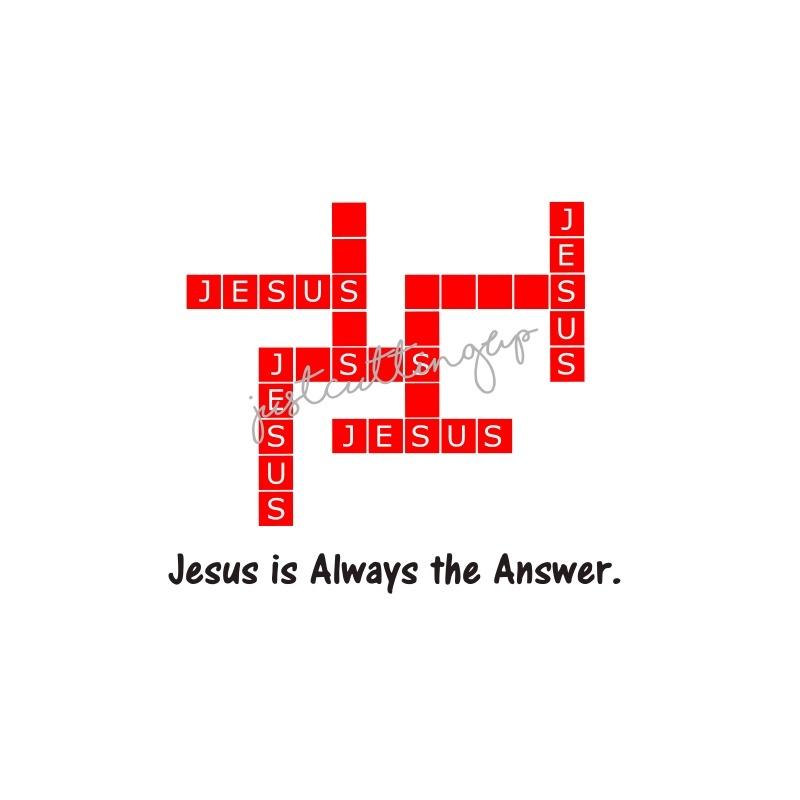 Jesus SVG- SVG ONLY