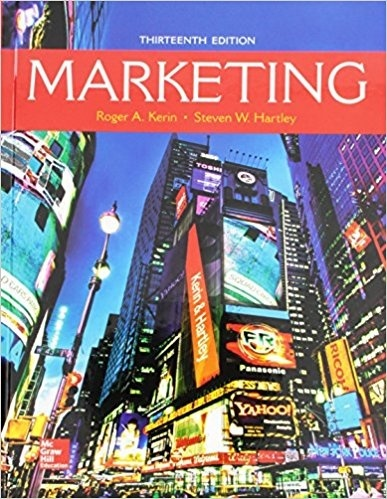 Marketing - Standalone book 13th Edition ( PDF )