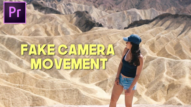 Fake Camera Movement Preset