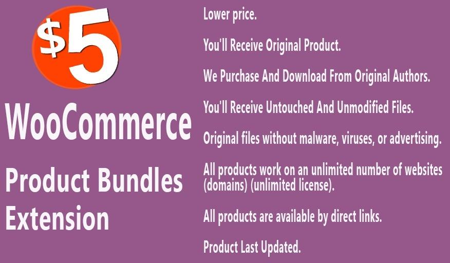 WooCommerce Product Bundles Extension