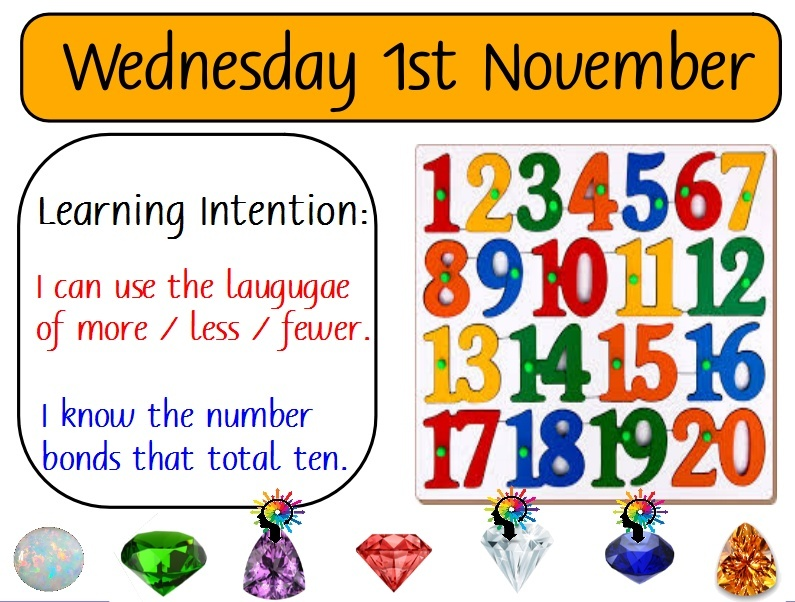 2 -3 DAYS FOR ADDITION FOR RECEPTION AND YEAR ONE
