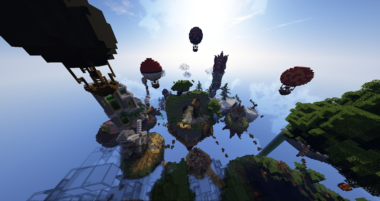 Minecraft 8 Game Modes + MiniGames + Hub