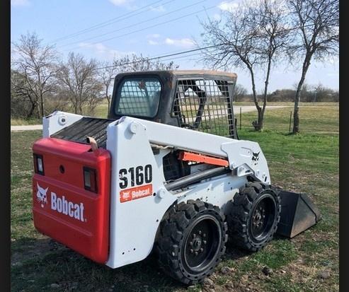 Bobcat S160 Skid - Steer Loader Service Repair Workshop Manual DOWNLOAD (S/N A3L311001 & Above)