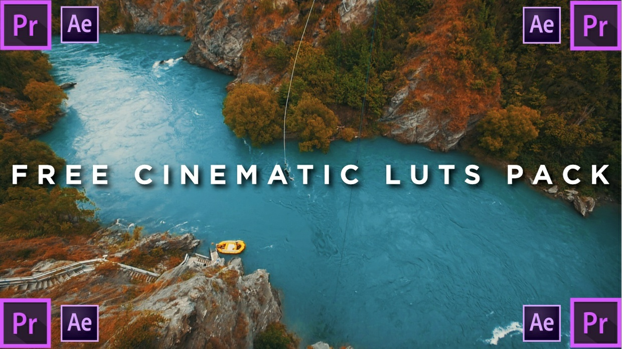 3 LUTS - PREMIERE PRO - AFTER EFFECTS - INSPIRED BY SAM KOLDER  Teal and Orange Colorgrade!