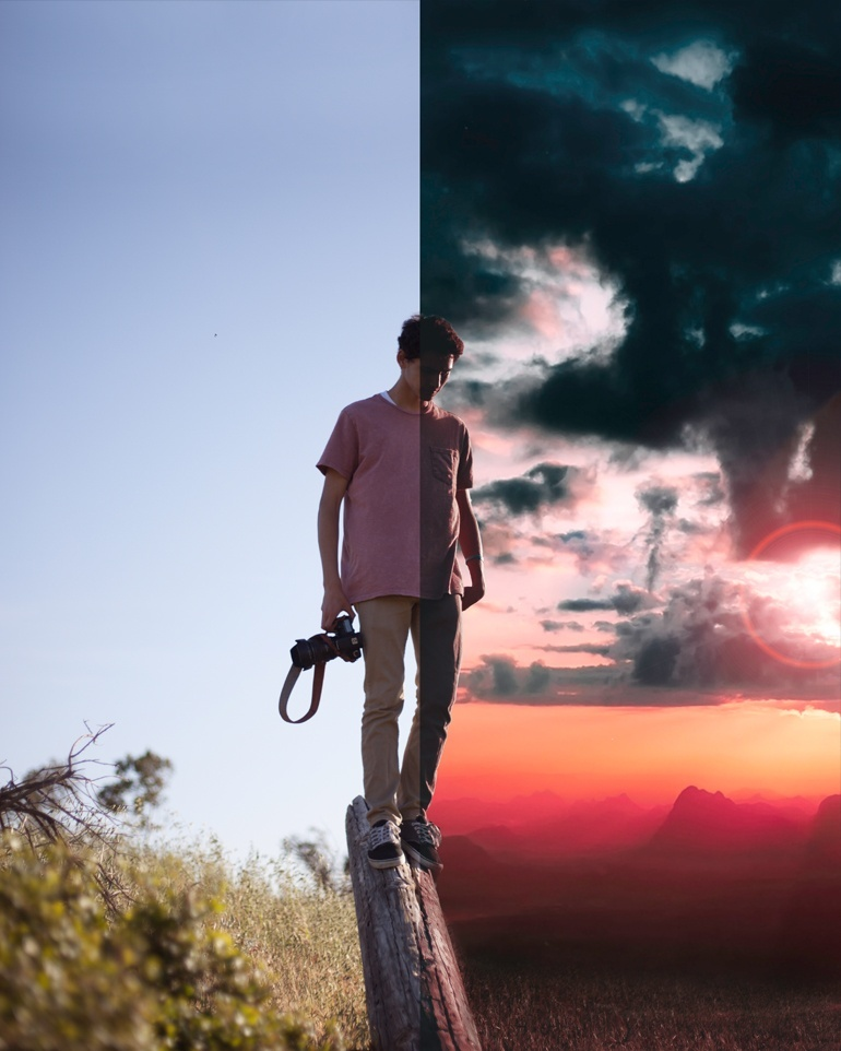 Red and Blue Lightroom Preset - @ruusstty