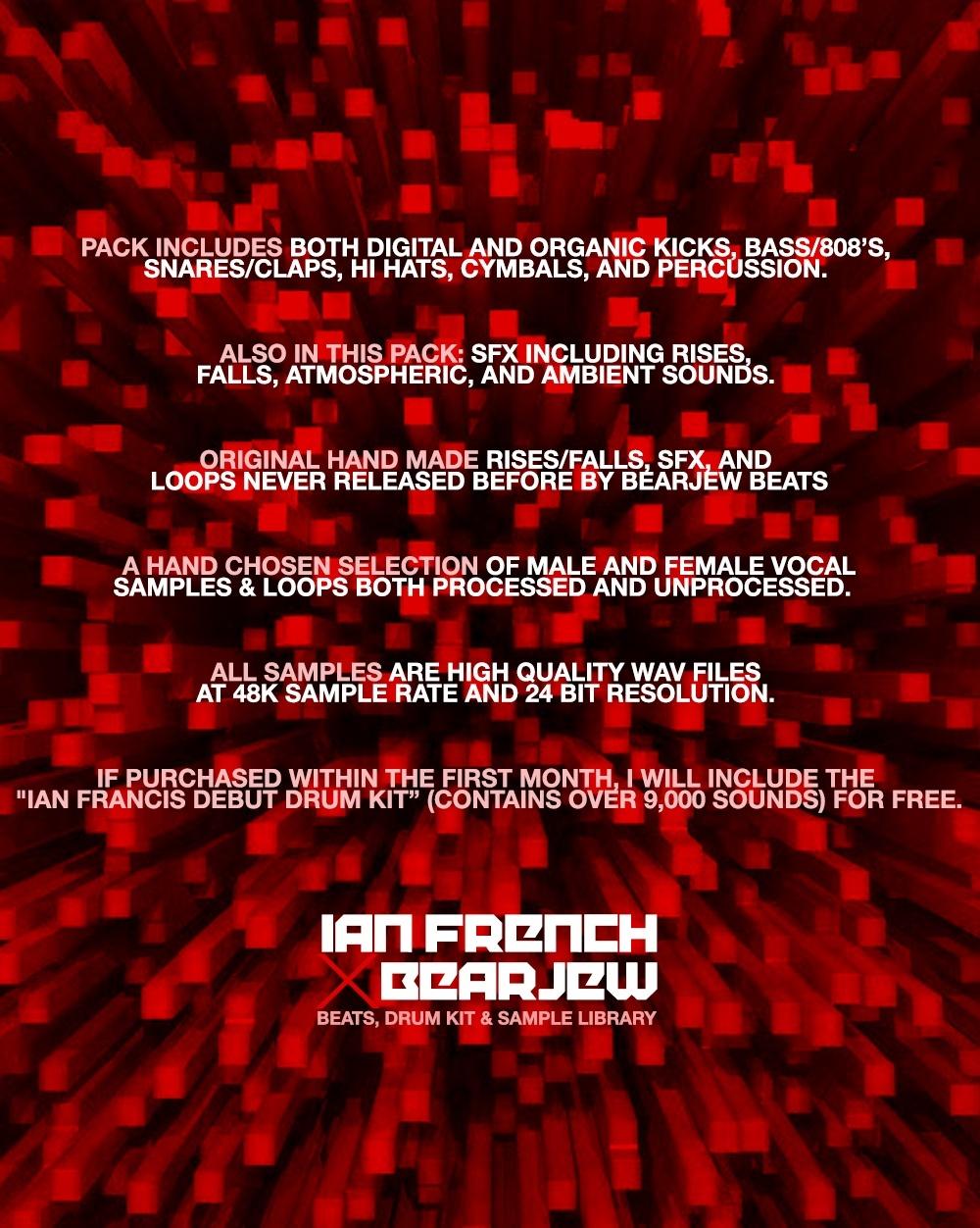 Ian French x BearJew Drumkit & Sound Library