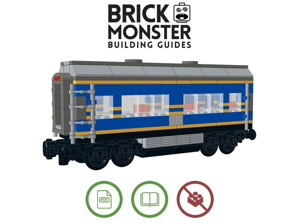 LEGO Custom - Passenger Car #1 Building Guide