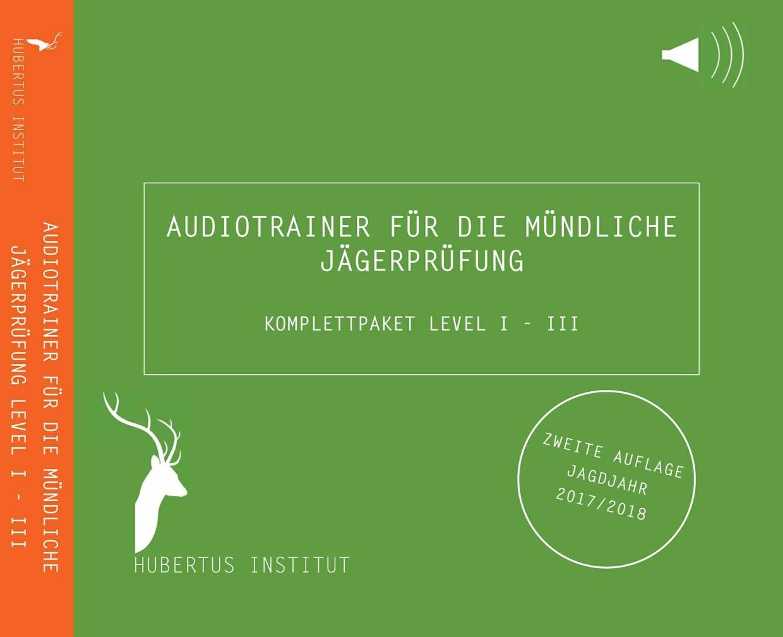 Audiotrainer für die mündliche Jägerprüfung - Komplettpaket Level I - III 2.Aufl.
