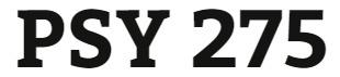 PSY 275 Week 3 Mood and Addictions Worksheet
