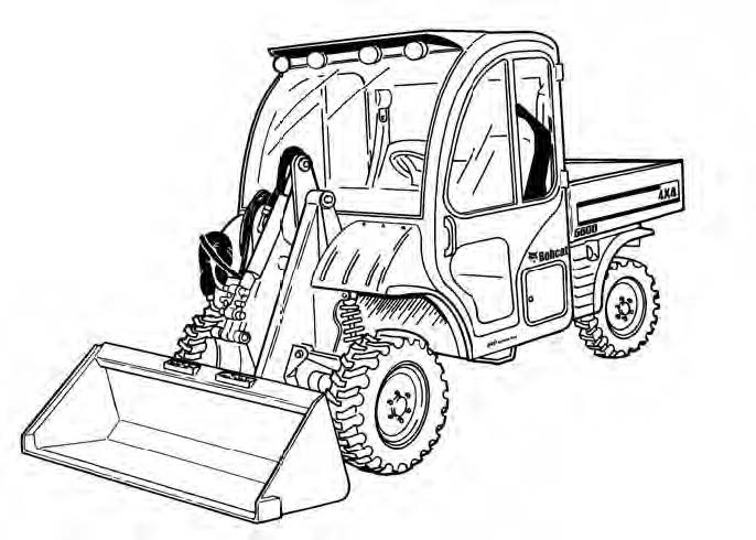 Bobcat Toolcat 5600 Utility Work Machine Service Repair Manual Download(S/N AHG811001 & Above)