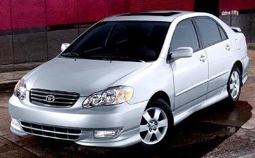 2004 Toyota Corolla Oem Service And Repair Manual