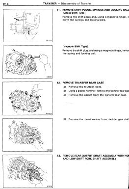 Toyota Land Cruiser LJ70 Service & Repair Manual