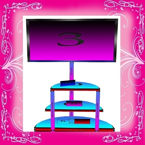 Reflect TV Stand Mesh