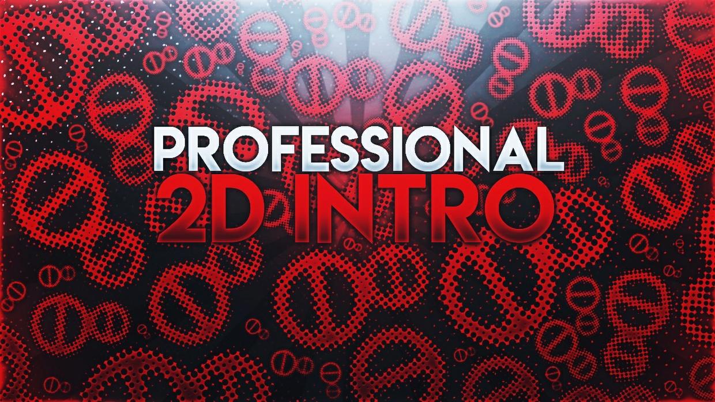 Professional 2D Intro
