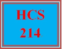 HCS 482 - Health Care Informatics