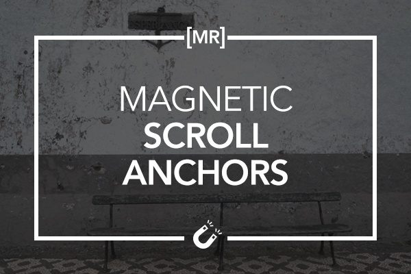 Magnetic Scroll Anchors