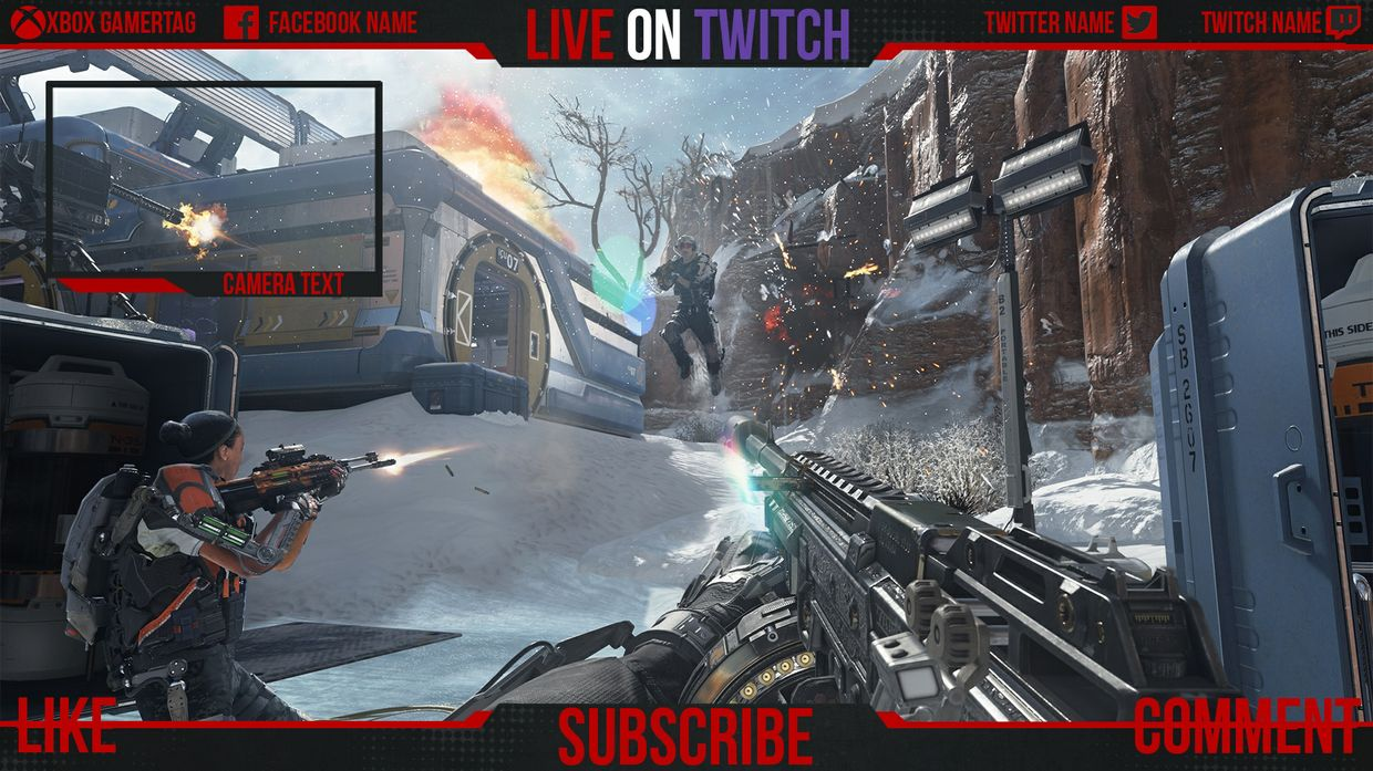 Twitch Overlay for Streaming!