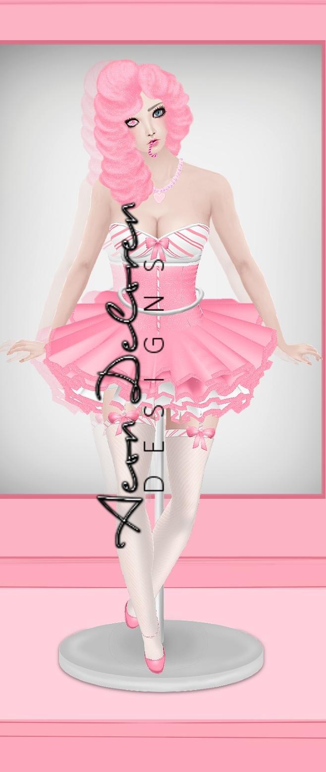 Peppermint Dancer Art - PSP TUBE