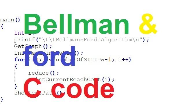 bellman ford c code