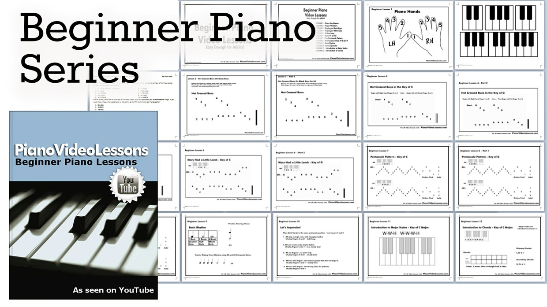 Pre-Staff Beginner Piano Lessons - PVL