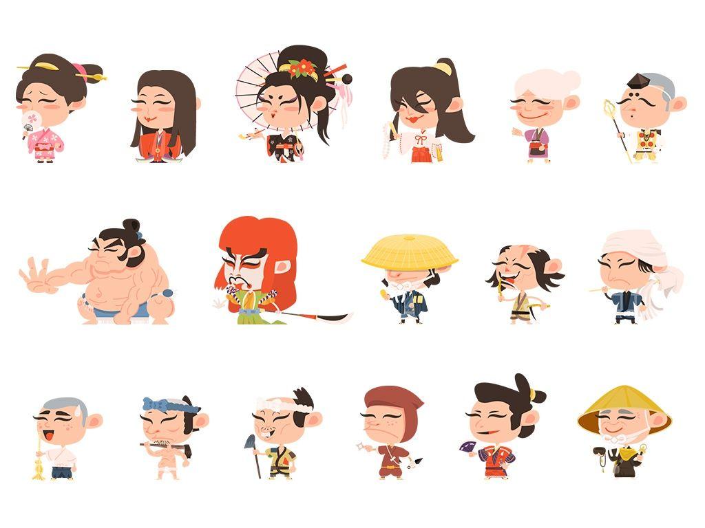 36 Samurai Characters
