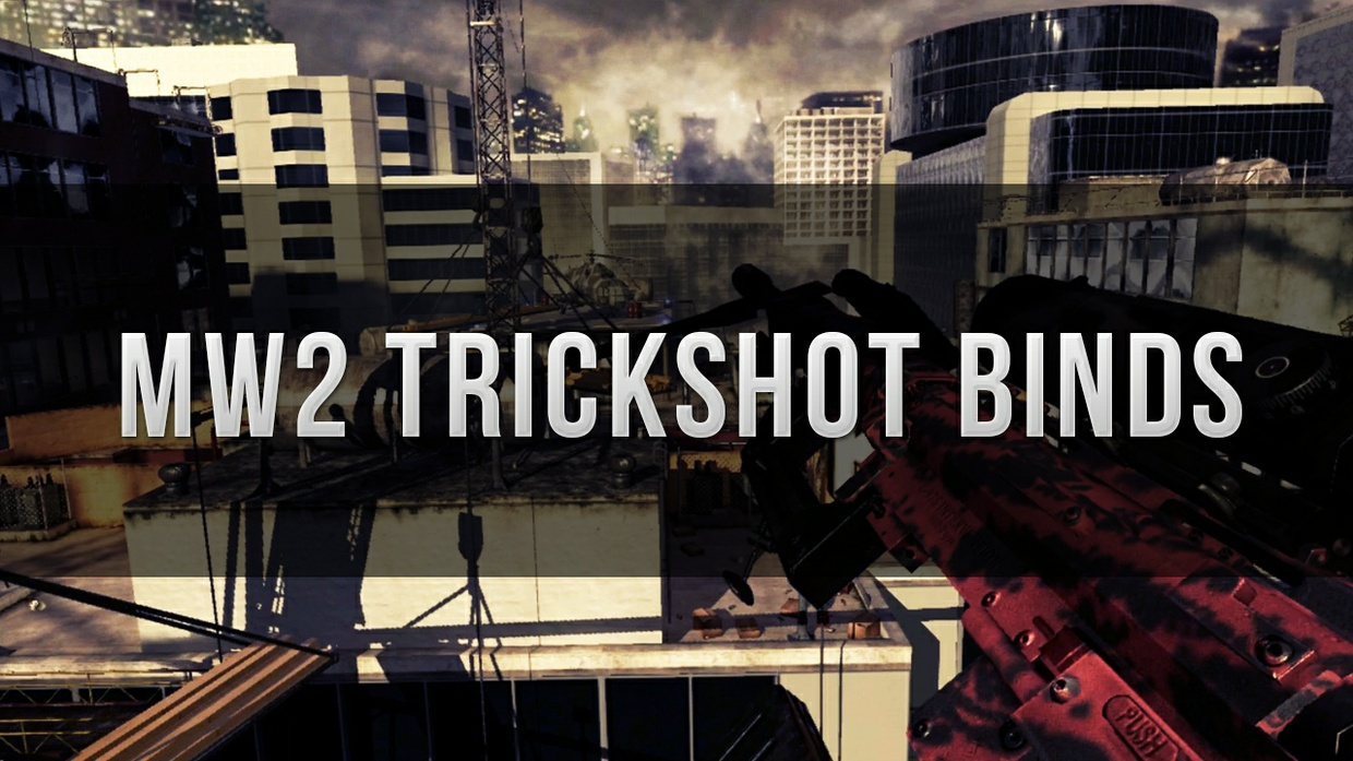 Mw2 Trickshot Binds for Console