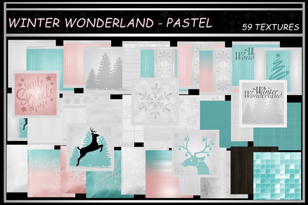 WINTER WONDERLAND ~ PASTEL