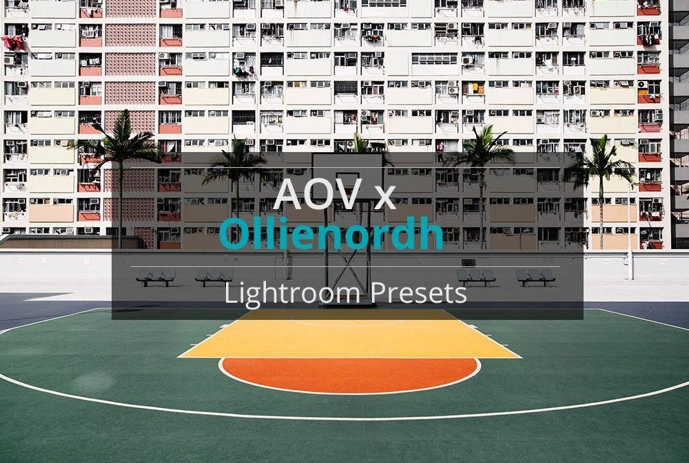 AOV x Ollienordh Lightroom Presets