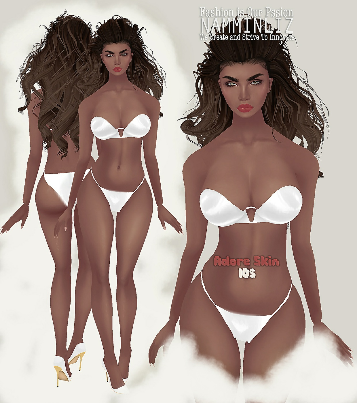 Realistic Fall Adore skin PNG