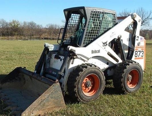 Bobcat 873 Skid Steer Loader Service Repair Manual (S/N 514114999 & Below, S/N 514212999 & Below)