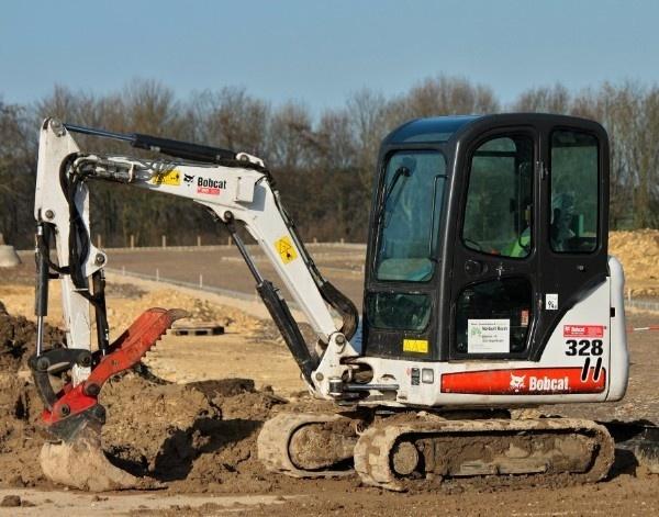 Bobcat 325, 328 Hydraulic Excavator (G Series) Service Repair Manual (S/N 234211001 & Above...)
