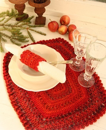 Table Mat & Serviette Ring