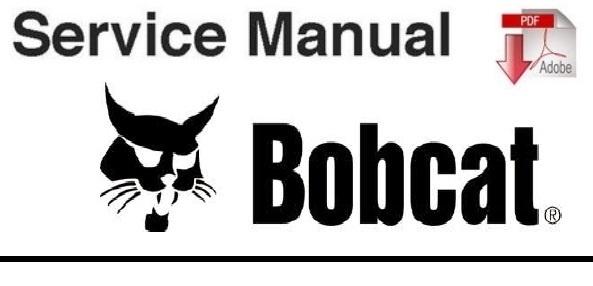 Bobcat T40140, T40170 Telescopic Handler Service Manual  (S/N A8GA11001 ~, A8GB11001 & Above)