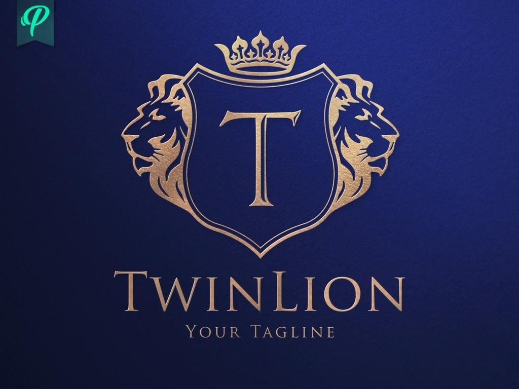TwinLion - Classy Logo Template