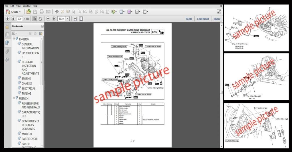 Aprilia SL 750 Shiver Motorcycle Workshop Service Repair Manual 2008-2009