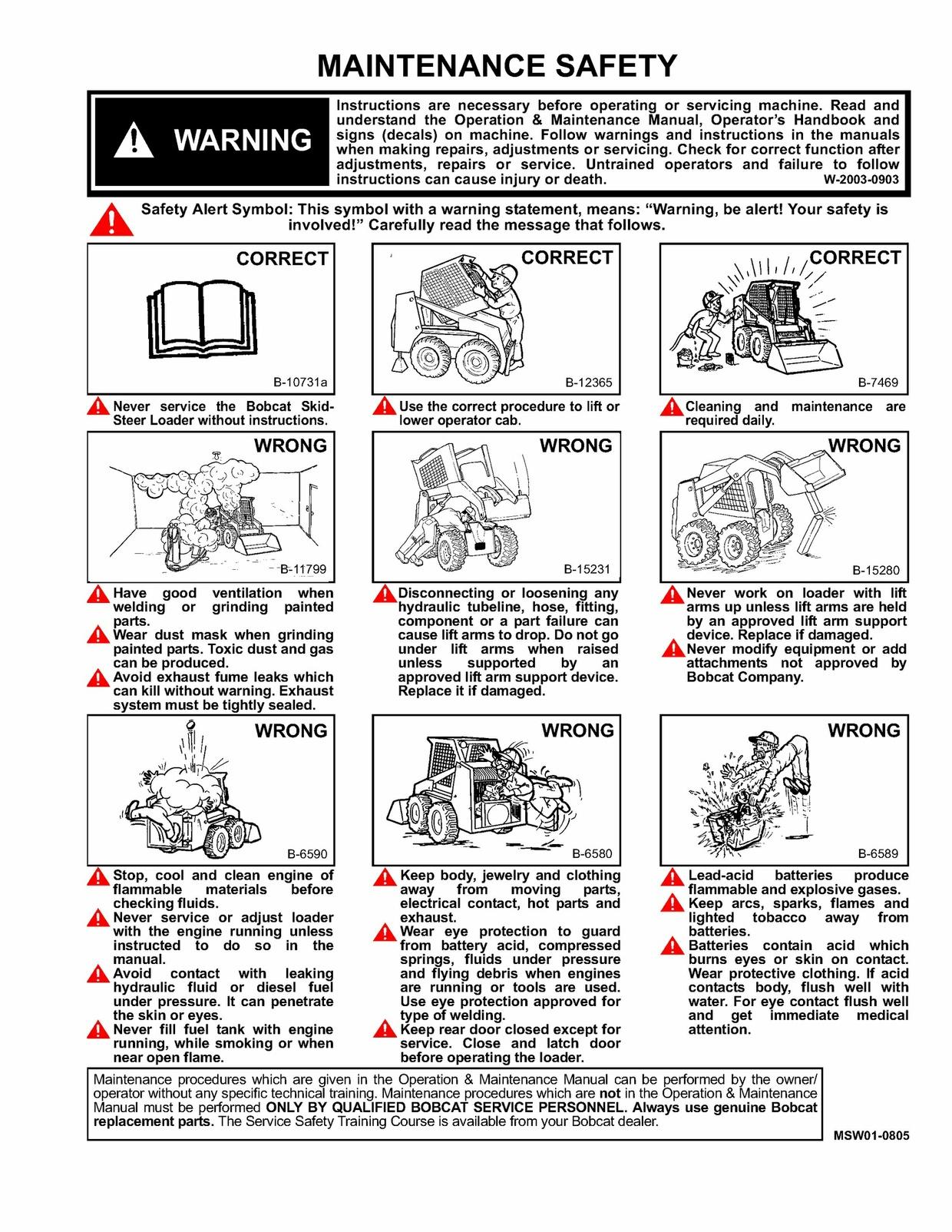 Pdf Download Bobcat 553 Skid Steer Loader  Service Repair Manual S/N: 513011001-513031001