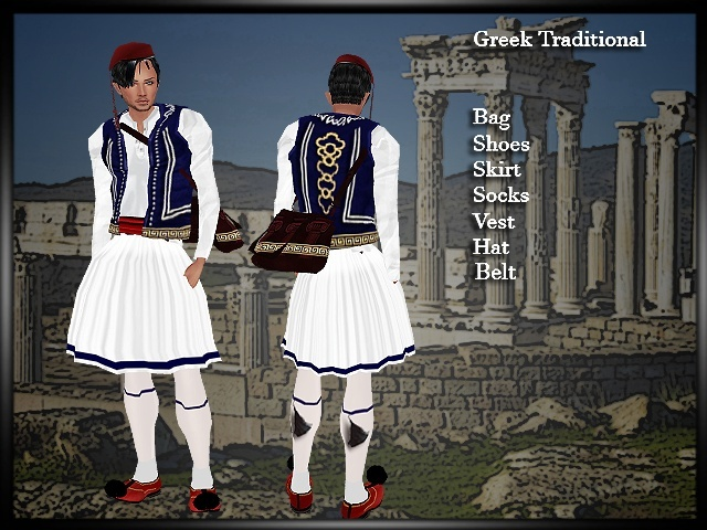 Evzone Greek Outfit