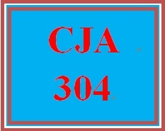 CJA 304 Week 2 Police Report Assignment