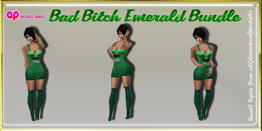 Bad Bitch Emerald Bundle AP Catty Only!!!