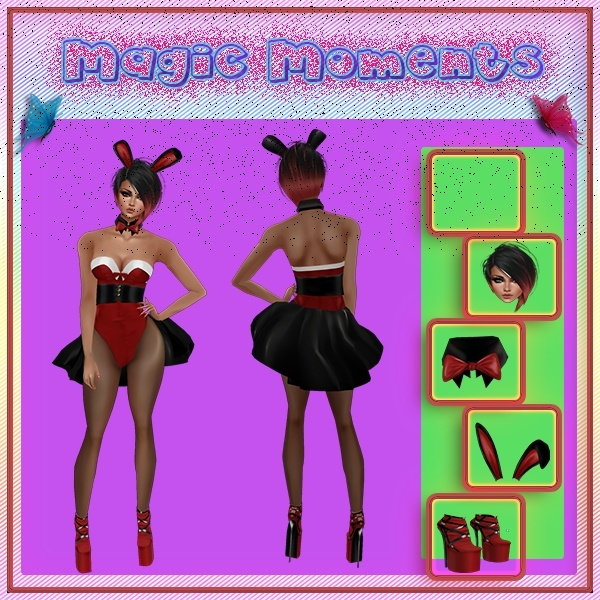 Rabbit Heartbeat Valentine Exclusive Bundle Catty Only!!!