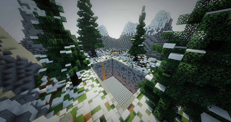 Winter Theme | Prison Mine