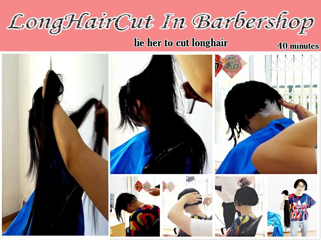 lie her to cut longhair