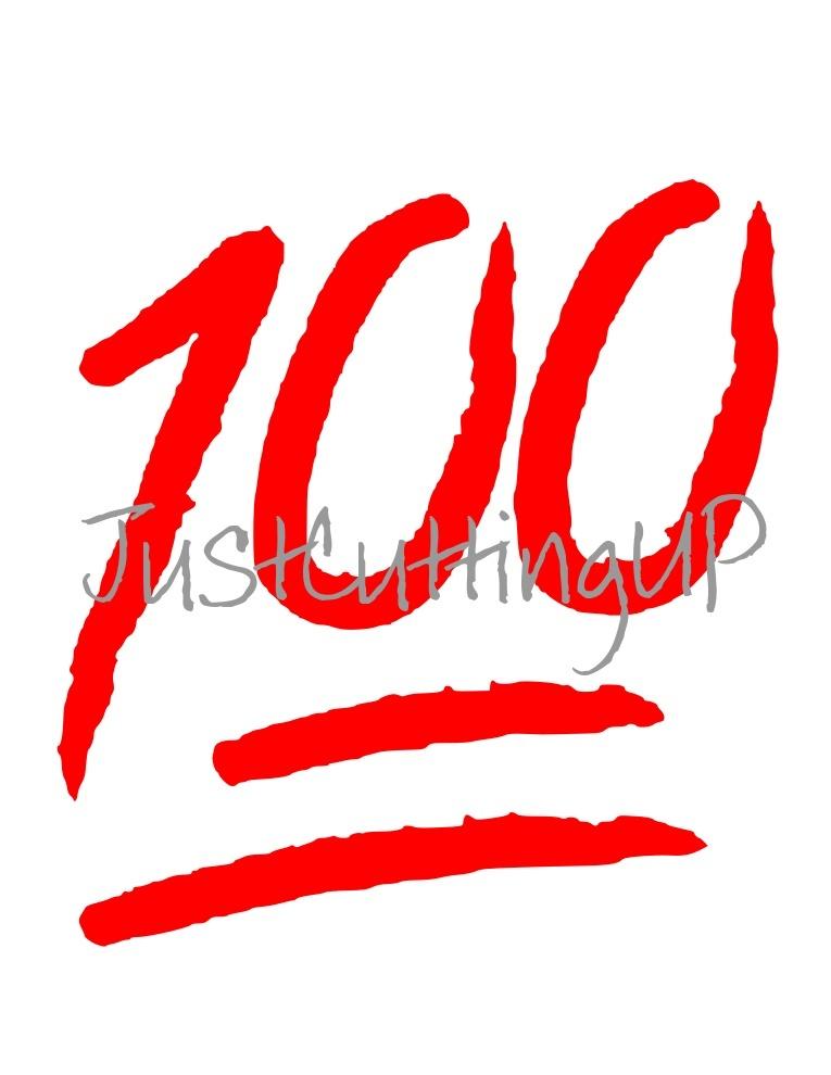 100 SVG, SVG only