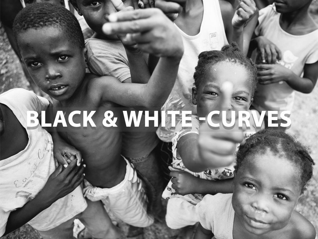 """Black & White - Curves"" - Lightroom Preset"