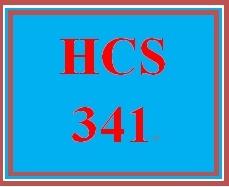 HCS 341 Week 3 Learning Team Evaluation