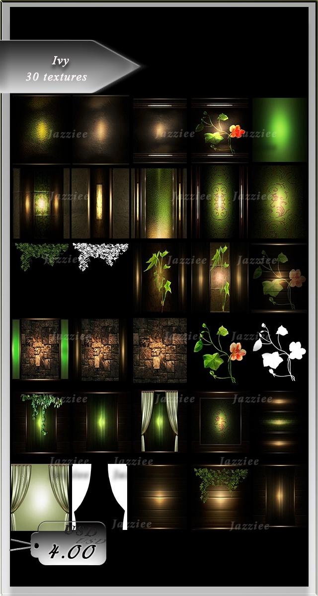 Ivy-30 Textures