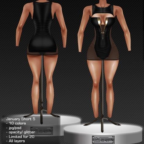 2014 Jan Short Dress # 5
