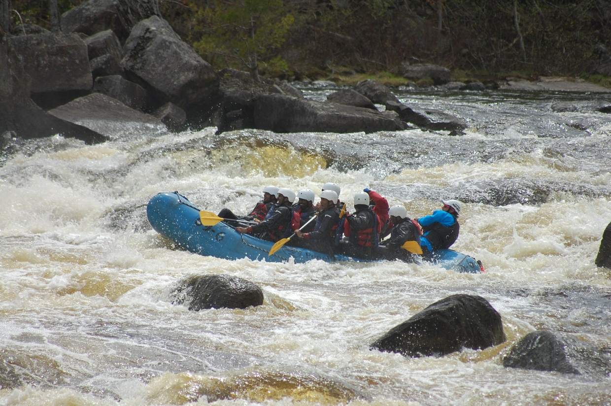 Penobscot Rafting Video 05/27/2017